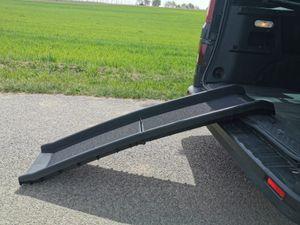 Auto Hunderampe Klappbar 160 x 40 cm Anti-Rutsch Einstiegshilfe Rampe Hunde