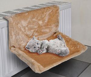 Hängematte Heizkörperliege für Katzen Plüschbezug waschbar 49047
