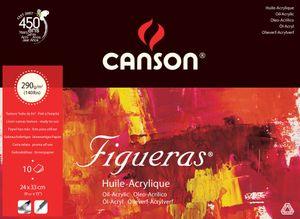"""CANSON Zeichenpapierblock """"Figueras"""" 330 x 240 mm 290 g/qm 10 Blatt"""