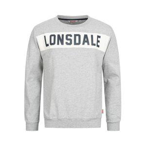 Lonsdale Pullover, Hethersett, grau Größe - L