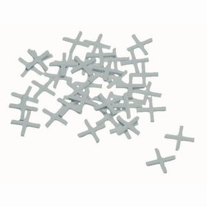 Ironside 166-000 Fliesenkreuze 2mm 250Stck mit langem Schenkel, weiß