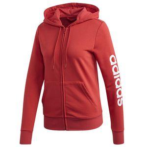 adidas Kapuzenkjacke für Damen , Farbe:Schwarz, Damen Größen:L
