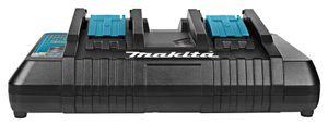 Makita® Zubehör Doppel-Schnellladegerät 14,4 / 18 V DC18RD