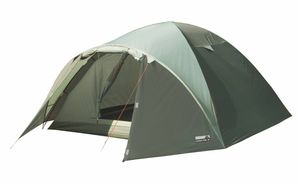 High Peak Zelt Nevada 3 Personen, Camping Urlaub, Farbe:dunkeloliv/helloliv