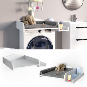 Vicco Wickelaufsatz mit Ablage für die Waschmaschine