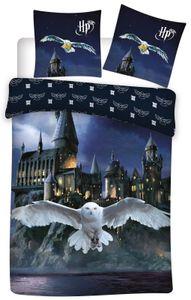 Harry Potter - Eule Hedwig - Bettwäsche-Set mit Wendemotiv, 135x200 & 80x80