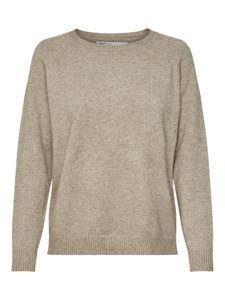 Only Damen Pullover 15170427 Beige