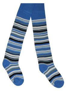Tobeni 2 Paar schöne warme Thermo Strumpfhosen für Mädchen und Jungen, Farbe:Jeans Blau, Grösse:86-92