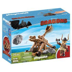 PLAYMOBIL® 9245 Grobian mit Katapult
