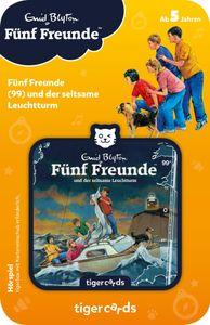 tigercard - Fünf Freunde - Folge 99: und der seltsame Leuchtturm - Tigermedia Karten