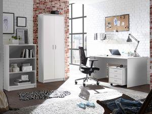"""Büro-Set Büroprogramm Bürokombi Büroausstattung Büromöbel """"Olli I"""" (4-teilig)"""