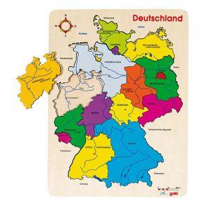 Einlegepuzzle Deutschland II, per St