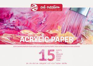 """ROYAL TALENS ArtCreation Künstlerblock """"Acryl"""" A4 15 Blatt"""