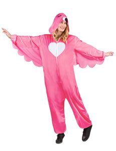 Flamingo-Kostüm für Damen Faschingskostüm pink