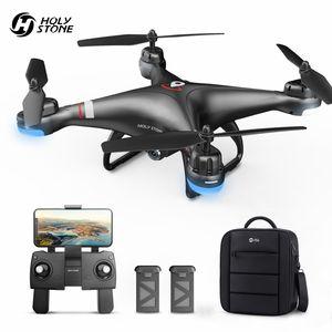 Holy Stone HS110G GPS FPV Drohne mit 1080P Kamera ,2 Akkus Lange Flugzeit + Tasche