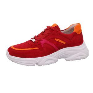 Gabor Shoes     rot-velour, Größe:41/2, Farbe:rot kombi rubin kombi 15