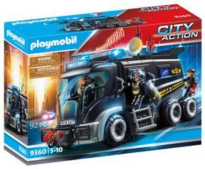 PLAYMOBIL City Action 9360 SEK-Truck mit Licht und Sound