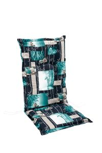 Best Gartenmöbelauflage Sesselauflage hoch mit Stehsaum 120x50x7cm; 4201740