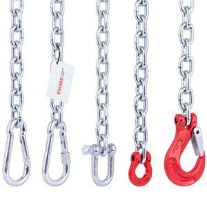 Seilwerk STANKE 100cm Befestigungsset zur Aufhängung von Hängematte, Hängesessel, Boxsack, mit Stahlkette 6 mm +  Schäkel 8mm