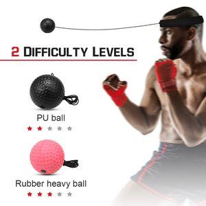 Kampfball mit Kopfband, Reflex Boxing Ball Boxtraining Set