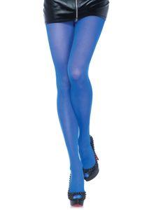 Nylon opaque pantyhose, Farbe:ROYAL BLUE, Größen:O/S