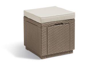 Cube Würfelhocker  Cappucino
