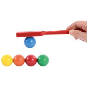 EDUPLAY 120363 Jumbo Magnetkugeln, mehrfarbig, 5-teilig (1 Set)