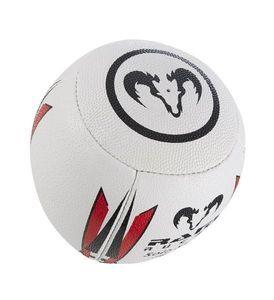 Solo Rugby Ball - Üben Sie taktische Fähigkeiten - Rot / Weiß  Spitzenqualität