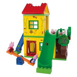 BIG Bloxx Baustein-Set Peppa Pig Spielhaus