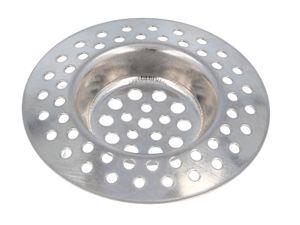 tecuro Edelstahl Abflusssieb für Spülenablauf - Ø 70 mm