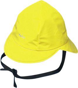 Playshoes Regenmütze, Baumwollfutter gelb, Größe: 47 cm