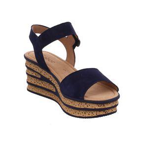 Gabor Sandalette  Größe 4, Farbe: bluette