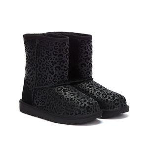 UGG Mädchen Stiefel in der Farbe Schwarz - Größe 38
