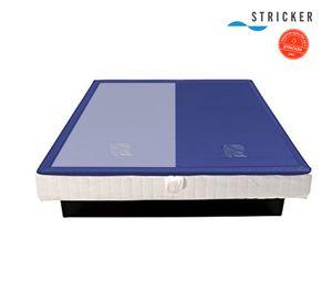 Softside Wasserbettmatratze DUAL 180 x 200 cm - 1 Seite  - F2 leicht beruhigt - Mesamoll II  - Vliesberuhigt mit Netzgewebe