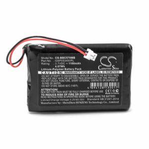 vhbw Li-Polymer Akku 1100mAh (3.7V) kompatibel mit Babyphone Babyfone Babytalker Ersatz für NeoNate GSP053450PL