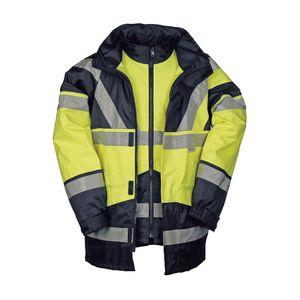 SIOEN Warnschutz-Regenparka 209AN2X93065 SKOLLFIELD warngelb Größe: L