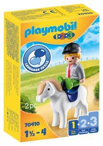 PLAYMOBIL 70410 Junge mit Pony