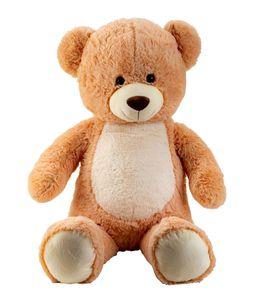 XXL Teddybär mit hellem Bauch 100cm Kuscheltier Teddy