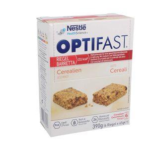 OPTIFAST Riegel, 6 x 65g - Cerealien