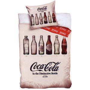 Coca-Cola - Wende-Bettwäsche-Set, 135x200 & 80x80 cm