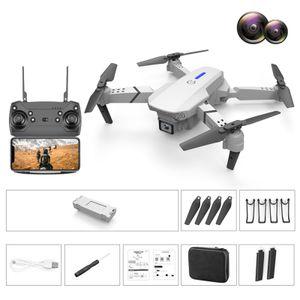 E525/E88 Faltbare GPS Drohne Schwarz 1080P Full-HD-Kamera Tap Fly Active Track Gestensteuerung