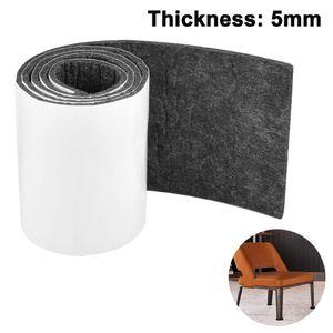 100CM Länge Selbstklebend Filzstreifen, Zuschneidbar Filzgleiter zum Schutz von Parkett, Laminat, Fliesen, Treppen, DIY und Möbel