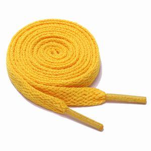 Schnürsenkel flach 120 cm 7# orange 8 mm breit