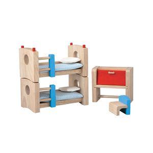 PlanToys Children's Room - Neo, Dollhouse bedroom, Puppenhaus, Holz, Mehrfarbig, 3 Jahr(e)