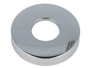 tecuro Schubrosette (1 ) Ø 32 mm x Ø 80 mm x Höhe 15 mm, messing verchromt