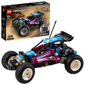 LEGO 42124 Technic Control+ Geländewagen, ferngesteuertes Offroad-Auto, Spielzeugauto, RC Buggy für Kinder, Fahrzeug