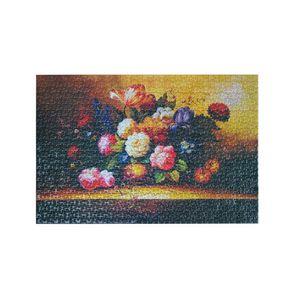 Puzzles 1000-teiliges Mini-Puzzle fuer Erwachsene und Kinder Unterhaltung Kreatives Geschenk DIY-Spielzeug fuer Wohnkultur (Blooming Flower)