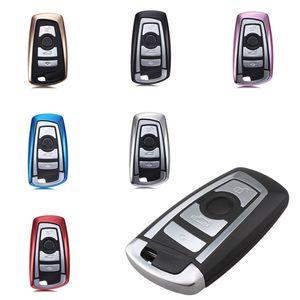 Gehäuse Hülle Tasche Schlüssel für BMW F20 F21 F30 F31 F34 F32 F10 F11 F25 F26, Farbe:Schwarz
