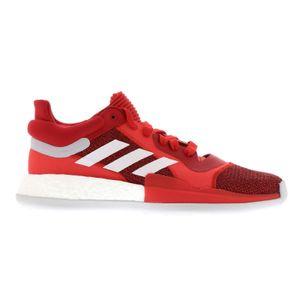 Adidas Marquee Boost Low Indoor Basketball Hallenschuhe Sneaker rot/weiss F36305, Schuhgröße:42 2/3 EU