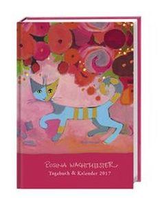 Rosina Wachtmeister Kalenderbuch A6 2017